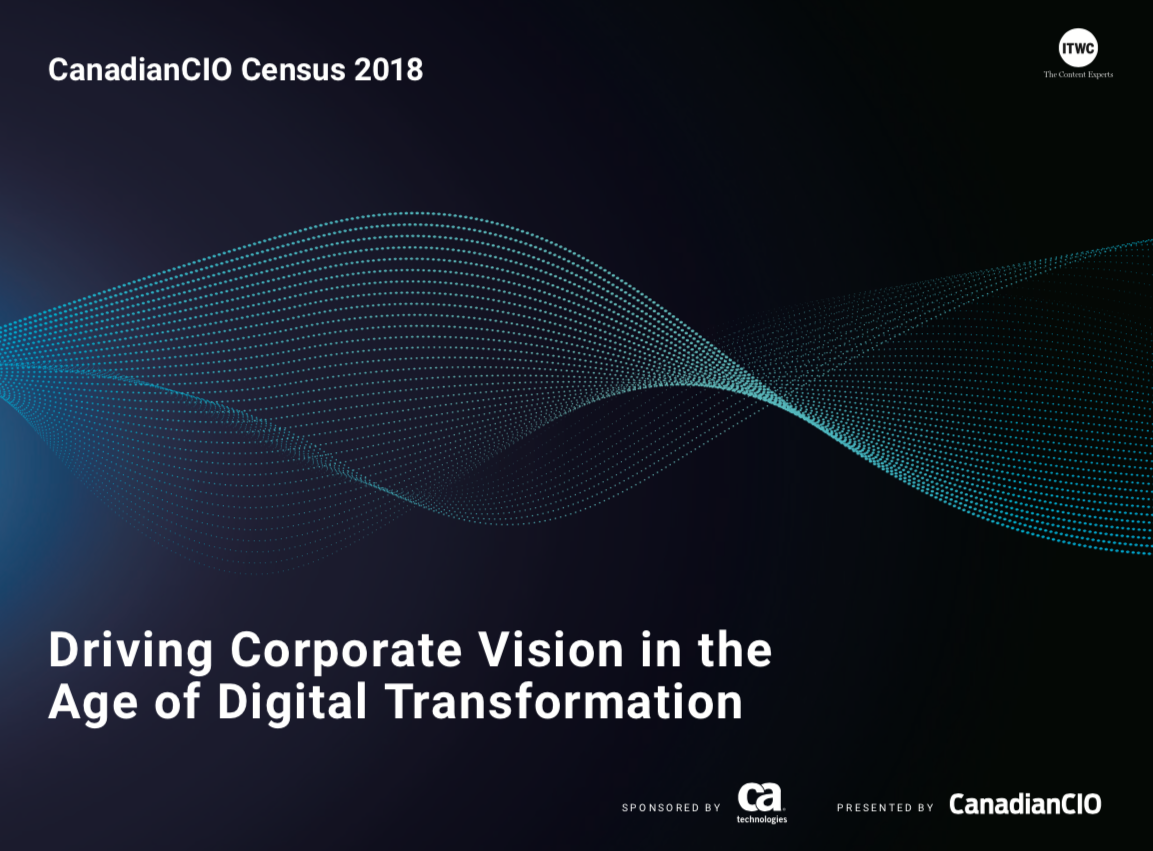 Whats on the mind of CIOs - 2018 CanadianCIO Census now available