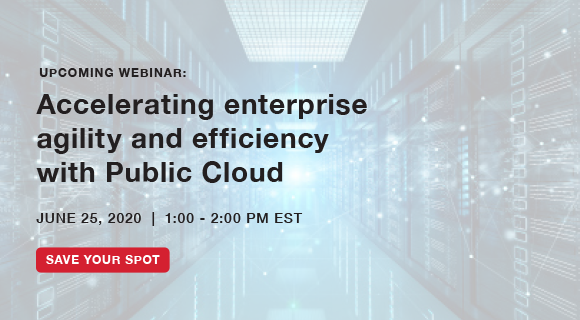 Accelerating enterprise agility and efficiency with Public Cloud