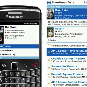 Flixster for BlackBerry