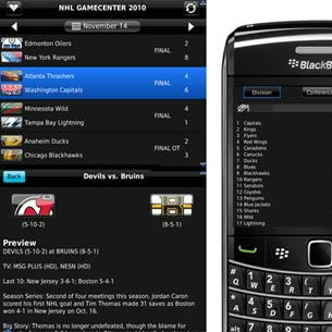 NHL Game Center 2010