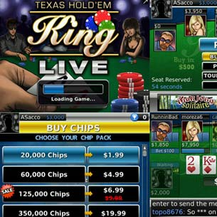 Texas Hold'em King Live for BlackBerry