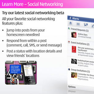 Nokia Messaging for Social Networks