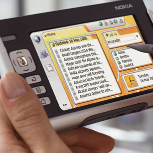 Nokia's N770 Internet tablet