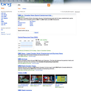 Microsoft uses Bing home page to push IE8