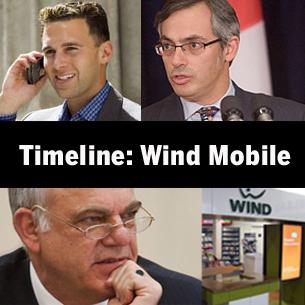 Timeline: Wind Mobile